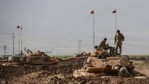 جزئیاتی از پایگاه ارتش ترکیه در شرق موصل