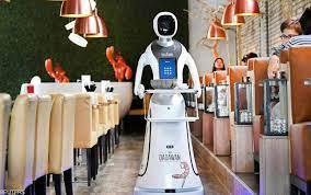 ربات ها به کمک رستوران دارها