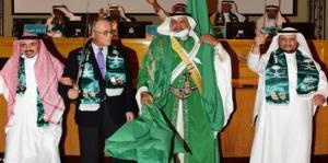 رقص شمشیر سفیر ژاپن در عربستان