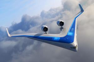 طراحی جالب هواپیماهای آینده به شکل V