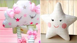 آموزش دوخت عروسک های بالشتی برای نوزادان