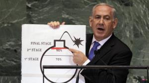 منازعه «نتانیاهو» و «بنت» بر سر نقاشیهای «بمب ایران»