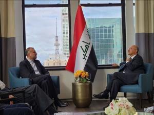 رایزنی امیرعبداللهیان با رییس جمهور عراق