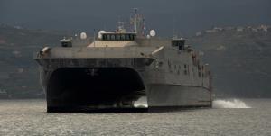استقرار نظامیان ناوگان پنجم نیروی دریایی آمریکا در بیروت