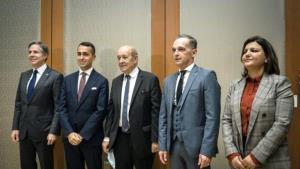بلینکن: از لیبی یکپارچه و باثبات حمایت میکنیم