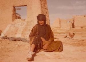 عکس/ تجلی وطندوستی انسان در هیبت پیرزن عرب اهوازی