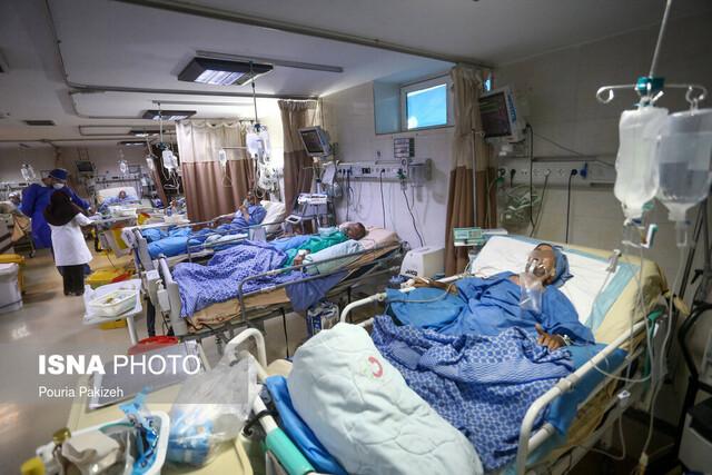 بستری ۲۳۳۶ بیمار کرونایی در بیمارستانهای اصفهان