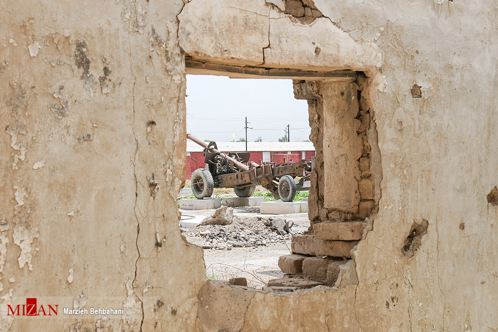 باغ موزه دفاع مقدس در آبادان
