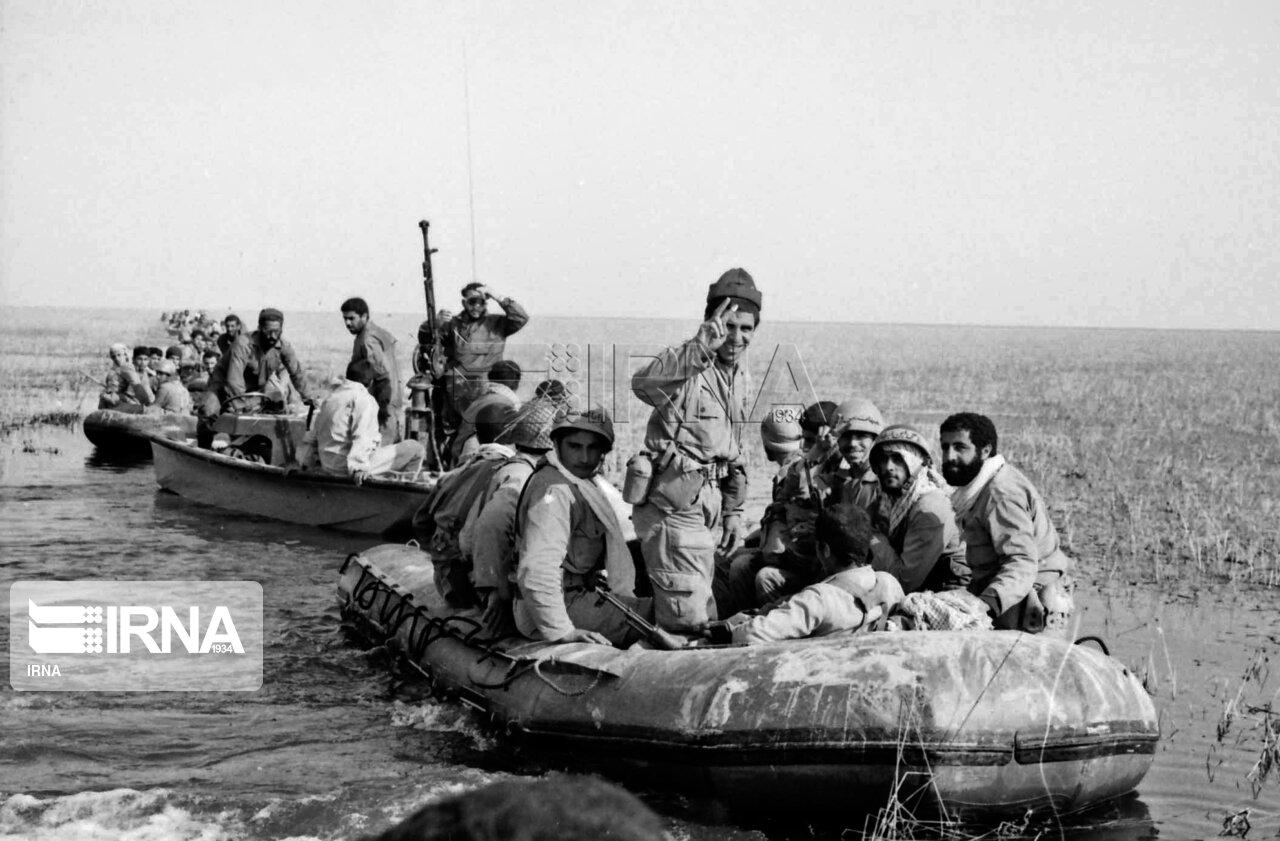 عکس/ عملیات خیبر در مناطق هورالعظیم