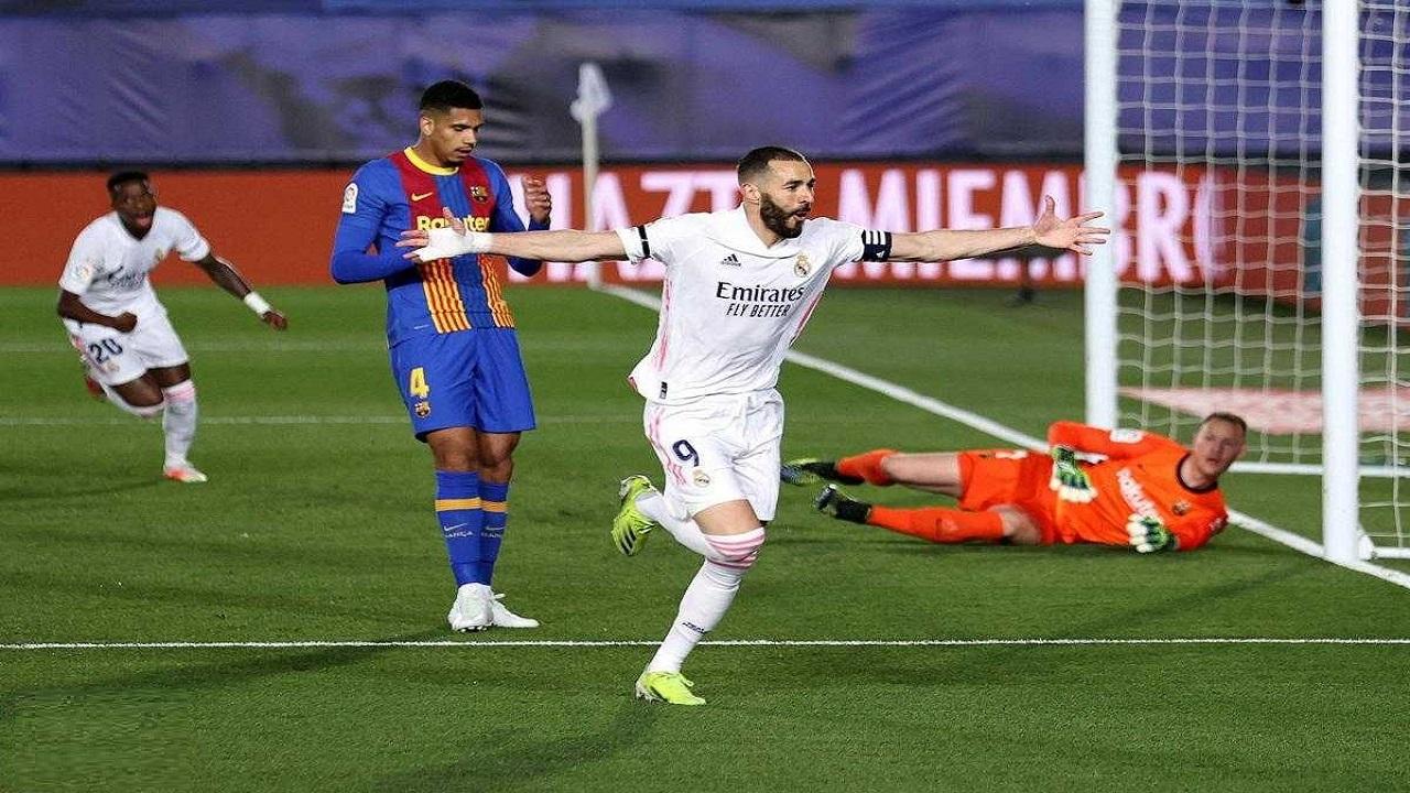 بنزما به تنهایی درخشانتر از بارسلونا!