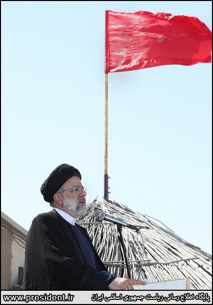 عکس/ حضور رئیس جمهور در نقطه صفر مرزی شهرستان مهران