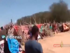 وضعیت ناگوار اردوگاه پناهندگان در تگزاس