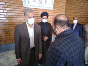 حضور استاندار خوزستان در منزل نوجوان فداکار ایذه