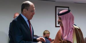 لاوروف و همتای سعودیاش دیدار تازه کردند