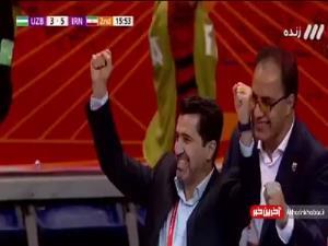 جام جهانی فوتسال/ گل ششم ایران به ازبکستان