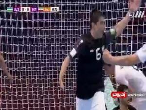 جام جهانی فوتسال/ گل هشتم ازبکستان به ایران