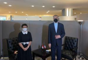 وزیر خارجه: اندونزی از کشورهای دارای اولویت برای سیاست خارجی ایران است