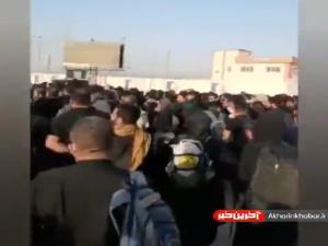 هزاران زائر در مقابل مرز مسدود شلمچه