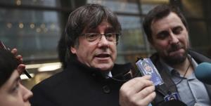 رهبر استقلالطلبان کاتالونیا دستگیر شد