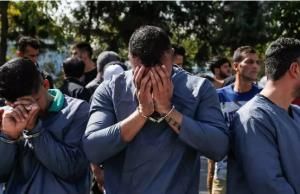 برخورد قاطع پلیس با اوباش در همدان