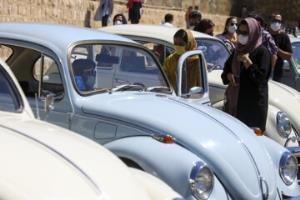 همایش خودروهای خانواده فولکس واگن در شیراز