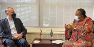 جزئیات دیدار امیرعبداللهیان با وزیرخارجه آفریقای جنوبی