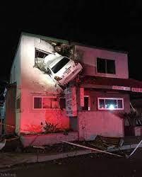 ورود وحشتناک راننده به ساختمان مرکز مخابرات شهر ریاض!