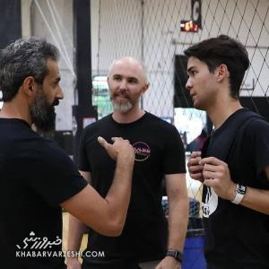 عکسهای جدید مربیگری سعید معروف در آمریکا