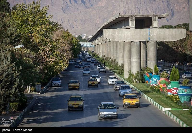 عکس/ منوریل پروژه ناتمام کرمانشاه