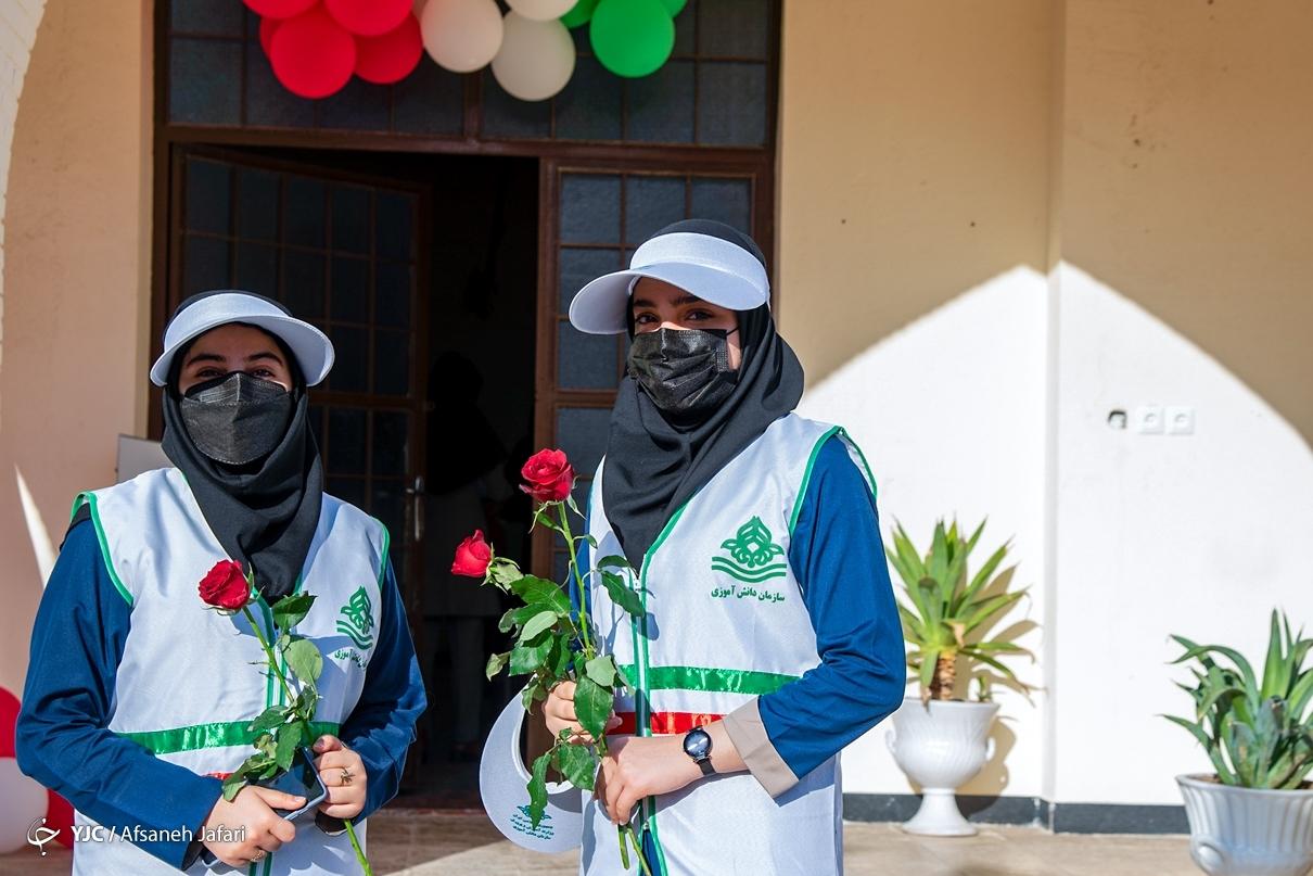 آیین بازگشایی مدارس در بوشهر