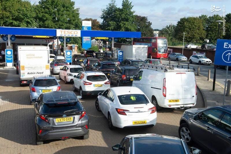 عکس/ بحران سوخت در انگلیس!