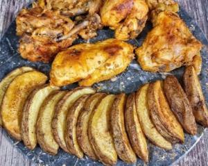 روش تهیه «مرغ مجلسی» لذیذ به همراه «سیب زمینی تنوری» مخصوص