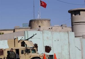 حمله موشکی به پایگاه نظامی ترکیه در شمال عراق