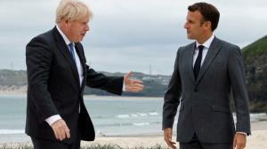 دفتر ماکرون: انگلیس پیشنهاد احیای همکاری داد