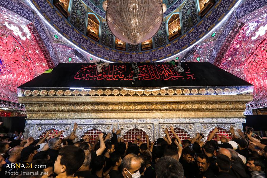 عکس/ حال و هوای حرم امام علی(ع) در آستانه اربعین حسینی