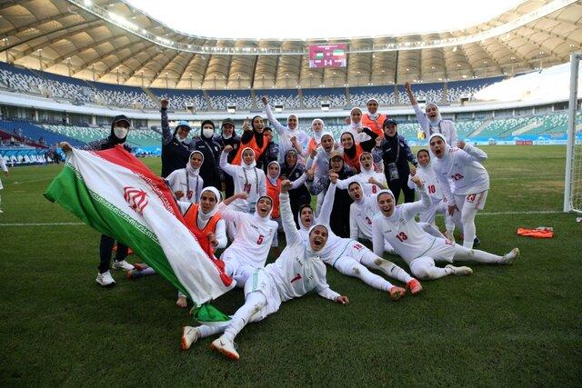 واکنش سرمربی تیم ملی فوتبال زنان ایران به تاریخسازی در آسیا