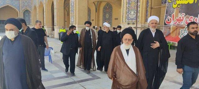 تقدیر نماینده رهبر انقلاب در شهر نجف از عوامل شهرداری تهران