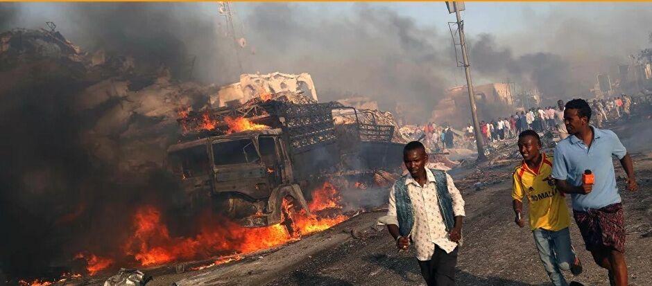 16 کشته و زخمی در پی انفجار در موگادیشو