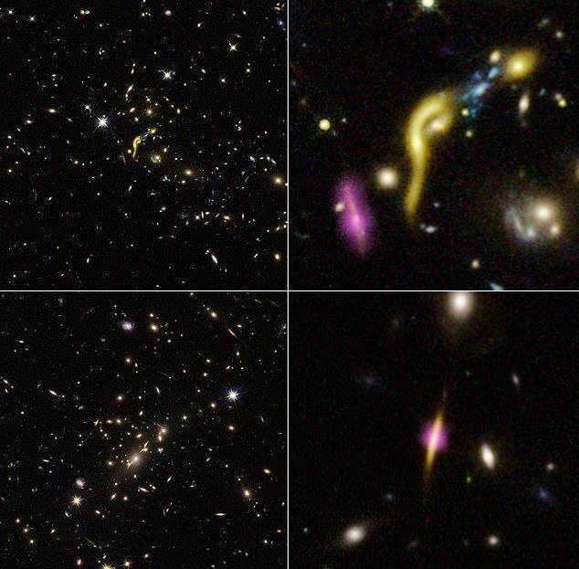 هابل ۶ کهکشان مرده کشف کرد!