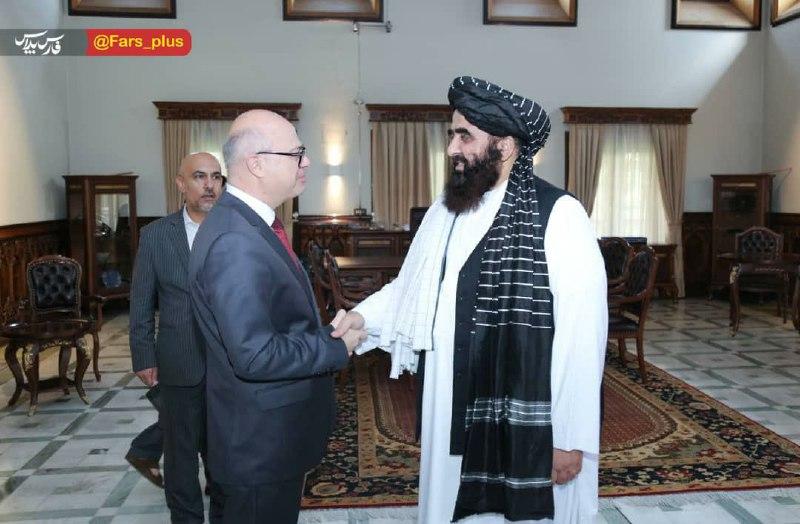 عکس/ دیدار سفیر ترکیه با مقامات طالبان در کابل