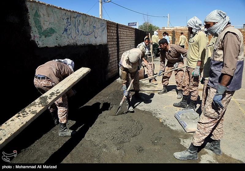 عکس/ کار جالب یک گروه جهادی به مناسبت اربعین حسینی