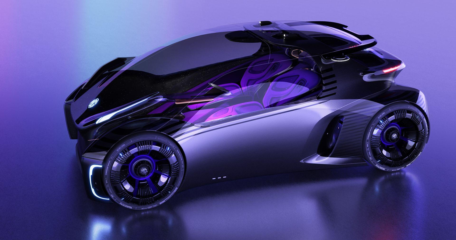 کانسپت «ام جی مِیز» معرفی شد؛ خودرویی مهیج برای گیمرها