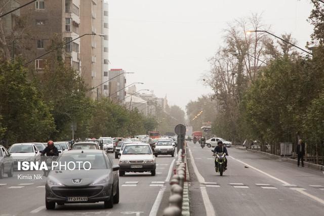 کاهش دمای تهران تا ۷ درجه