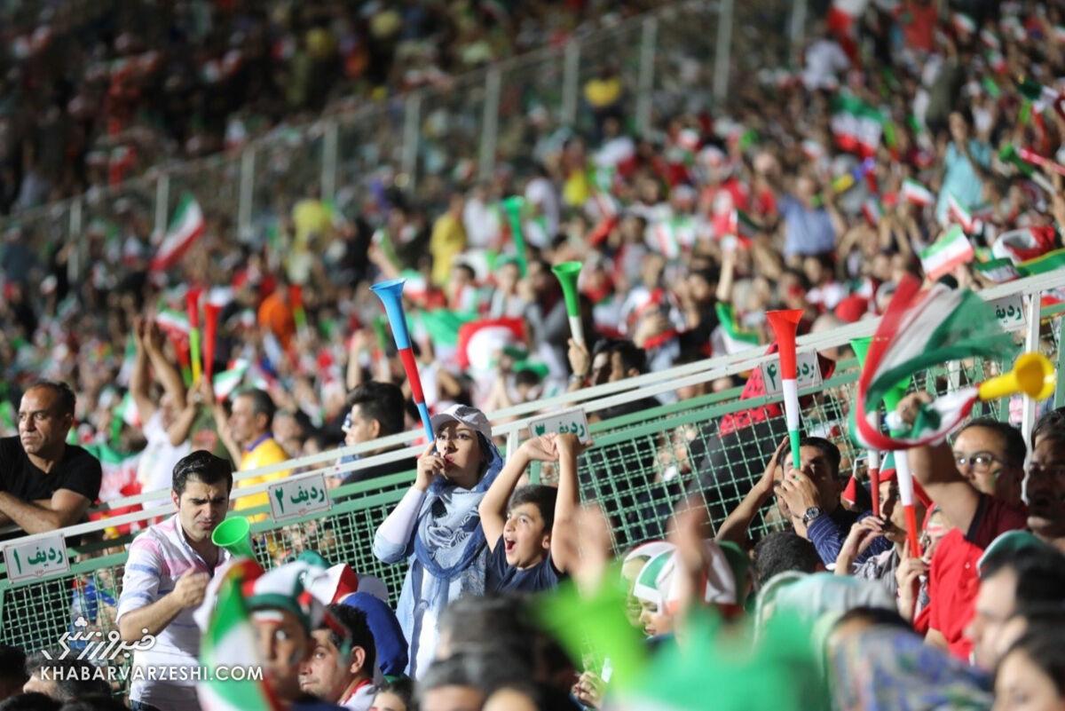 AFC مجوز داد/ برگزاری بازی ایران – کره با حضور تماشاگر