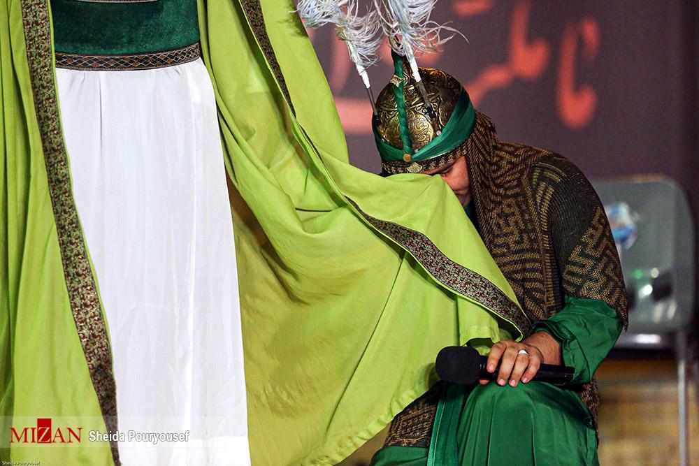 عکس/ اجرای مراسم تعزیه خوانی در کیش