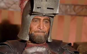 سکانسی از نقش آفرینی زنده یاد سیامک اطلسی در سریال «مختارنامه»