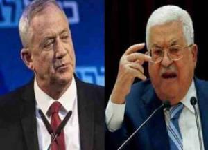 واکنش تمسخر آمیز گانتس به ضربالاجل محمود عباس