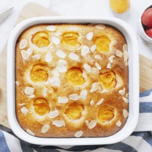 «کیک زردآلو و بادام» یک پیشنهاد خوشمزه
