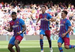 بازگشت امید به اردوی بارسلونا با پیروزی قاطع بدون کومان!