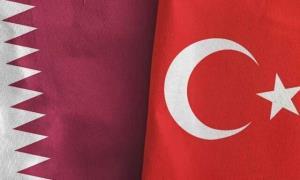 رونمایی از کشتی جنگی مدرن قطر در ترکیه